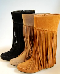 Aria Shingle Boots (TAN only)
