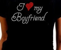 I Heart My Boyfriend Shirt